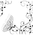 Beautiful natural background vector image