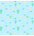 Underwater seamless pattern Seamless pattern with vector image
