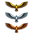 Metal Hawks vector image