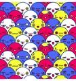 Cute cartoon pattern Eps8 vector image vector image