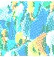 Halftone multicolored vector image