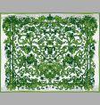 antique frame decoration vector image