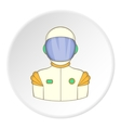 Astronaut icon flat style vector image
