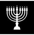 Menorah symbol vector image