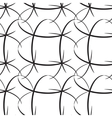 Seamless oval lined vector image vector image