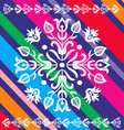 Pattern Folk Design vector image