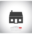 House icon Flat design vector image vector image