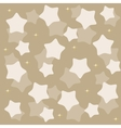 golden yellow stars over blue background vector image