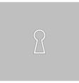 Keyhole computer symbol vector image