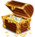 Treasures box Vector Image