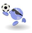 football world vector image vector image