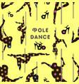 dancing on the pylon pattern vector image