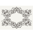 Old Antique High Ornate Frame vector image