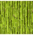 Hand-drawn green bamboo seamless bacground vector image