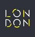 london 001 vector image