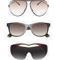 Sunglasses set for men vector image