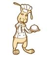 Rabbit-Chef vector image vector image