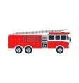 Fire truck vector image
