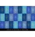 texture grain four blue color vector image
