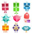 funny gifts vector image vector image