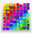 Abstract geometrical shape2 vector image