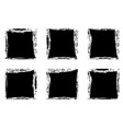 modern black square stain frames collection vector image