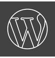 WordPress vector image