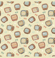 tv pattern vector image
