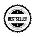 Bestseller vintage stamp black vector image
