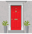 Red Door vector image