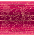 floral background1 vector image vector image