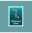 Kayak stamp Canoe  Summer Vacation vector image