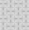 Slim gray striped semi circles with neck vector image