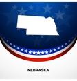 Nebraska vector image vector image