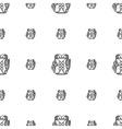 Rucksack background vector image
