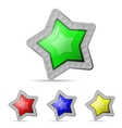 star icon on white background vector image