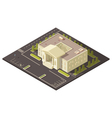 Government Building Concept vector image