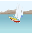 Sail sport vector image vector image