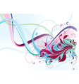 color abstraction vector image