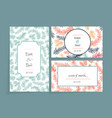 wedding cards vector image