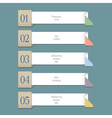 Modern Design template for graphic or website vector image