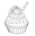 High quality original of cake with vector image