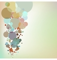 Abstract background with design elements EPS 10 vector image