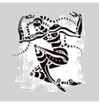 African dancer Ethnic vector image vector image