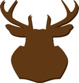 Hunting Trophy Silhouette vector image
