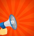 Loud voice of the speaker Discount vector image vector image