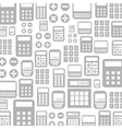 Calculator a background vector image