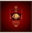 magenta menu vector image