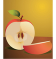 apple vector image