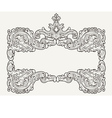 Antique Vintage Frame vector image
